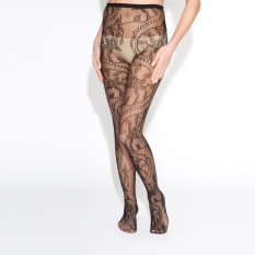 BAROQUE FISHNET STOCKING