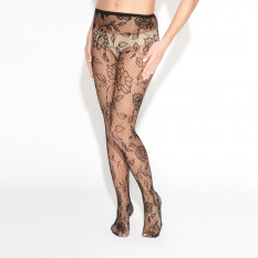 BLOSSOM FISHNET STOCKING